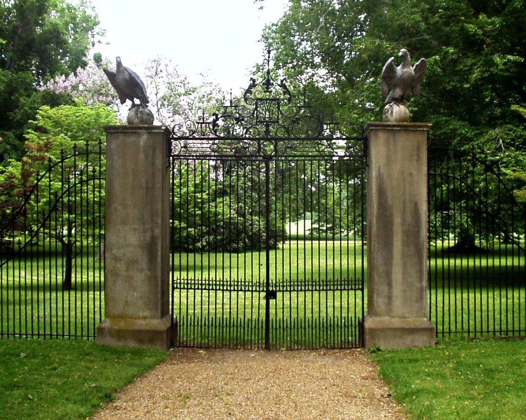 The Famous Westover Gates