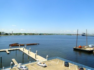 40 Rader Street Unit 412 Norfolk - dock view