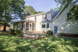 2412 Tarkington Ct. N. Chesapeake VA 23322 Back Deck and Porch